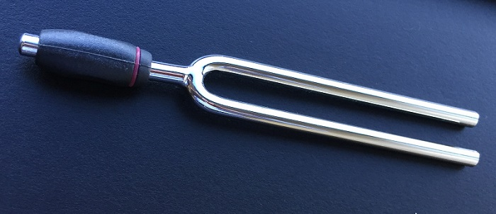 A tuning fork