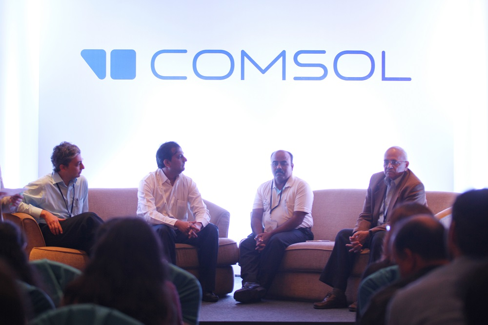 The panel discussion on the Application Builder.