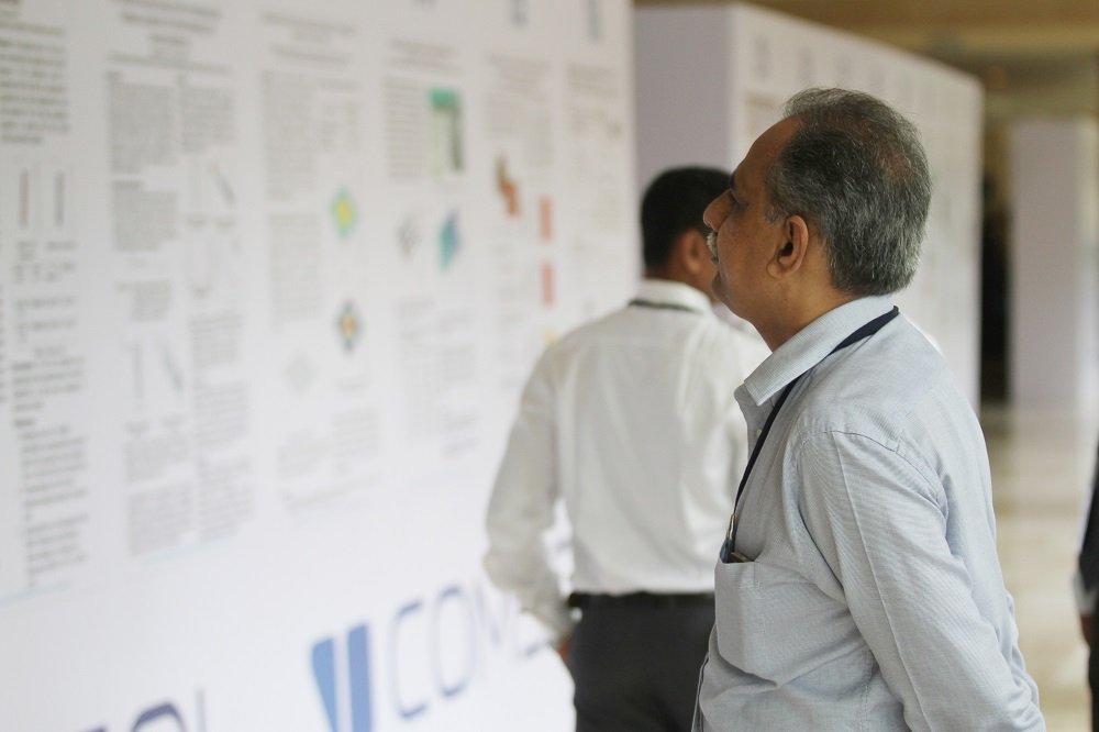 A wide range of work was presented at the poster session.