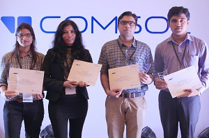 COMSOL Conference 2014 Bangalore award winners