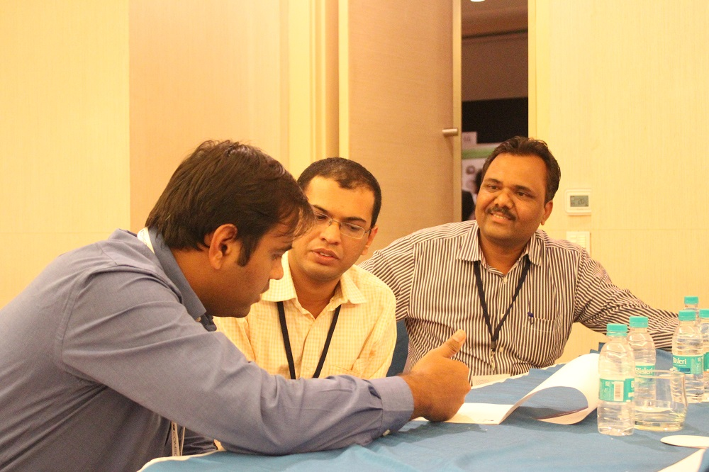 Attendees had the chance to interact with COMSOL staff.