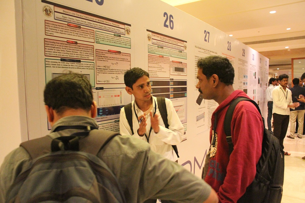 The poster session.