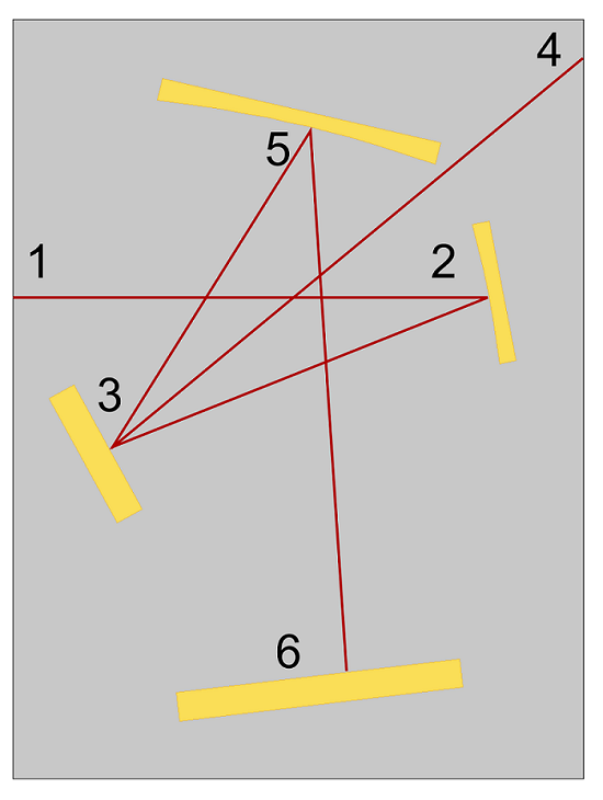 A crossed Czerny-Turner configuration.