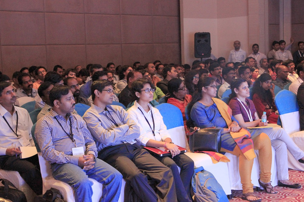 Audience at the keynote session.