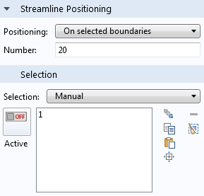 Positioning is set to On selected boundaries.