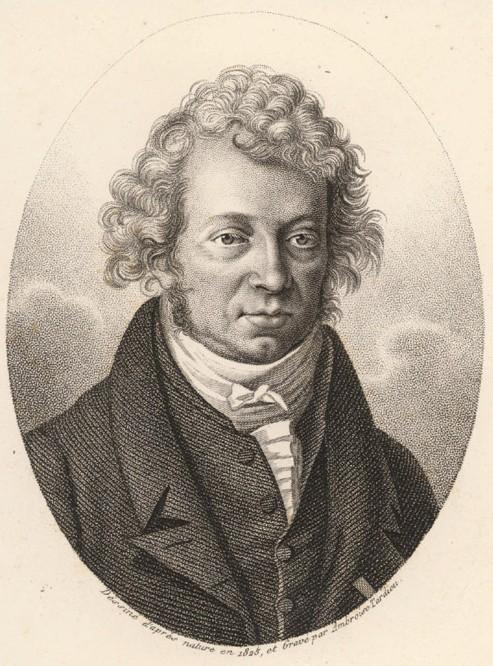An image of André-Marie Ampère.