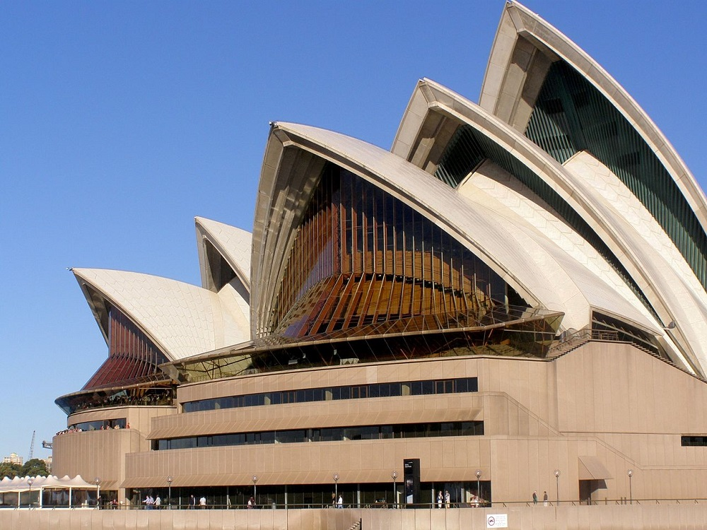 The Sydney Opera House is one example of bringing multiphysics into architecture.