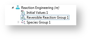 The Reaction Groups feature.