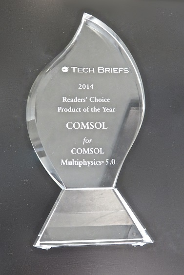 The NASA Tech Briefs' Product of the Year award.