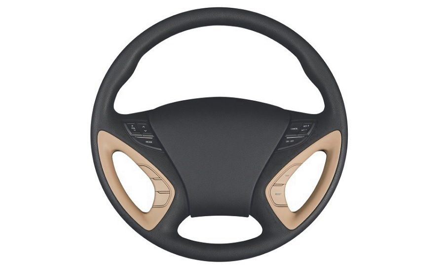 An image depicting a steering wheel.