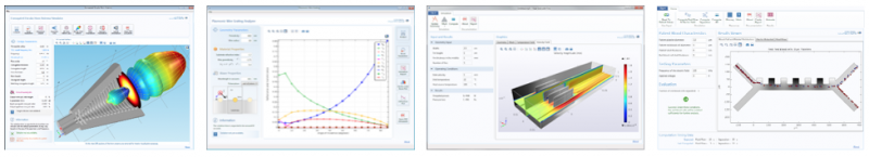 Applications created using COMSOL Multiphysics