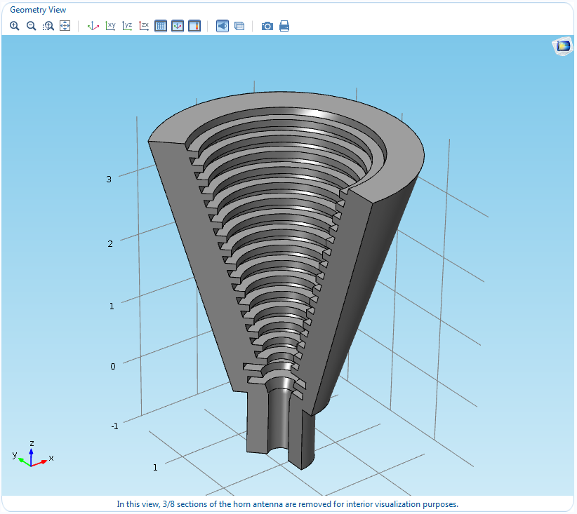 How To Create A Simulation App  Horn Antenna Demo