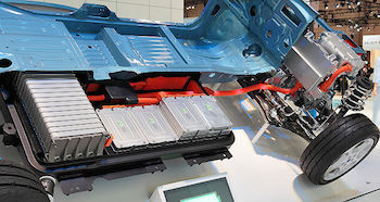 the drivetrain in an electric car featured