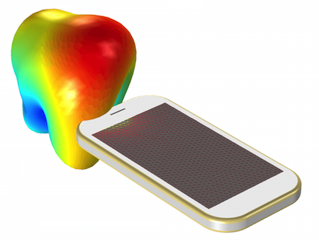 Mobile Antenna 3D featured