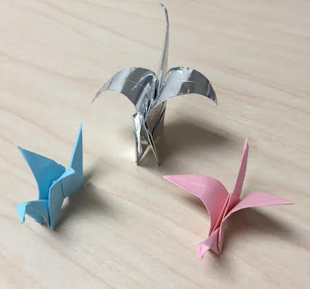 Paper Cranes featured