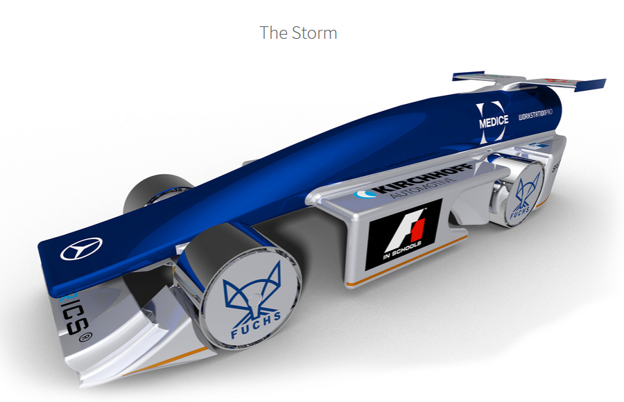 A full design of the team Boreas race car.