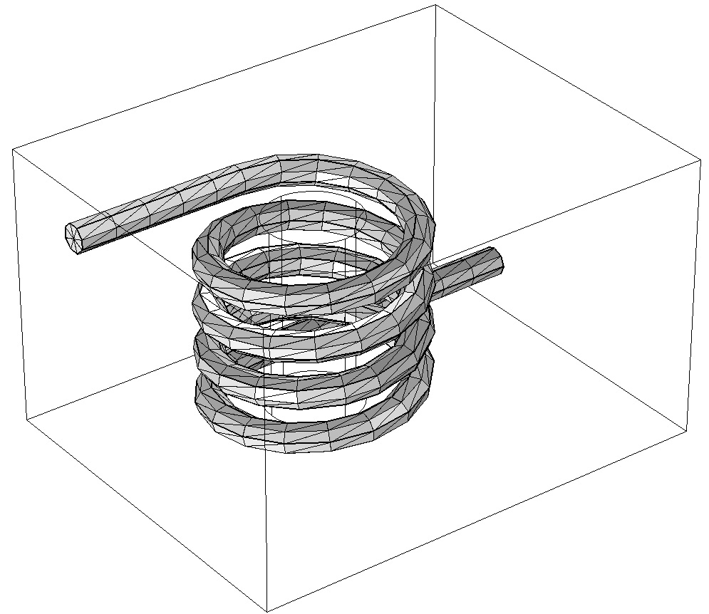 An image showing the convert operation on a coil.