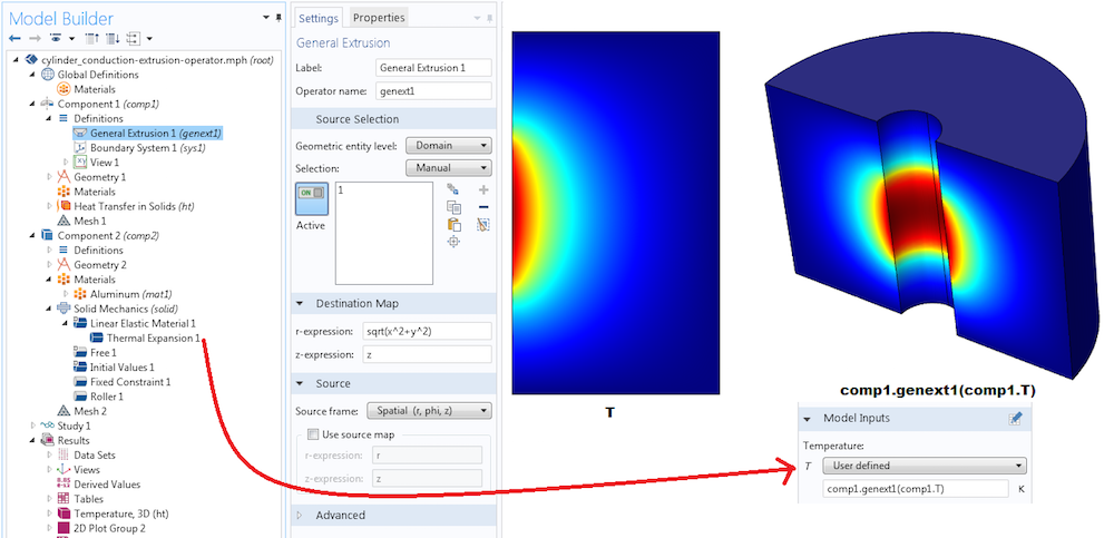 Screenshot showing how to add a user-defined expression.