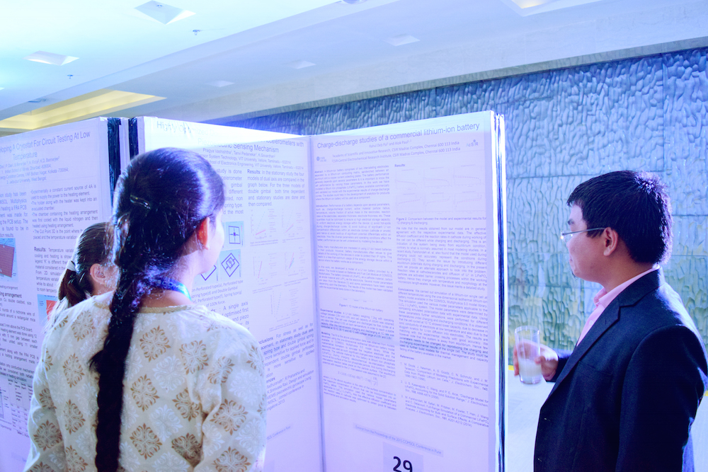 Each year, the poster session highlights innovative research.