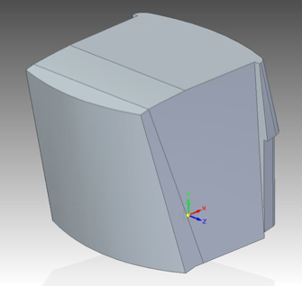 A COMSOL Multiphysics air domain.