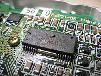 integrated circuit overheated featured