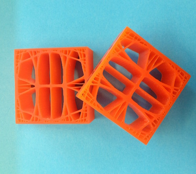 3D printed samples featured