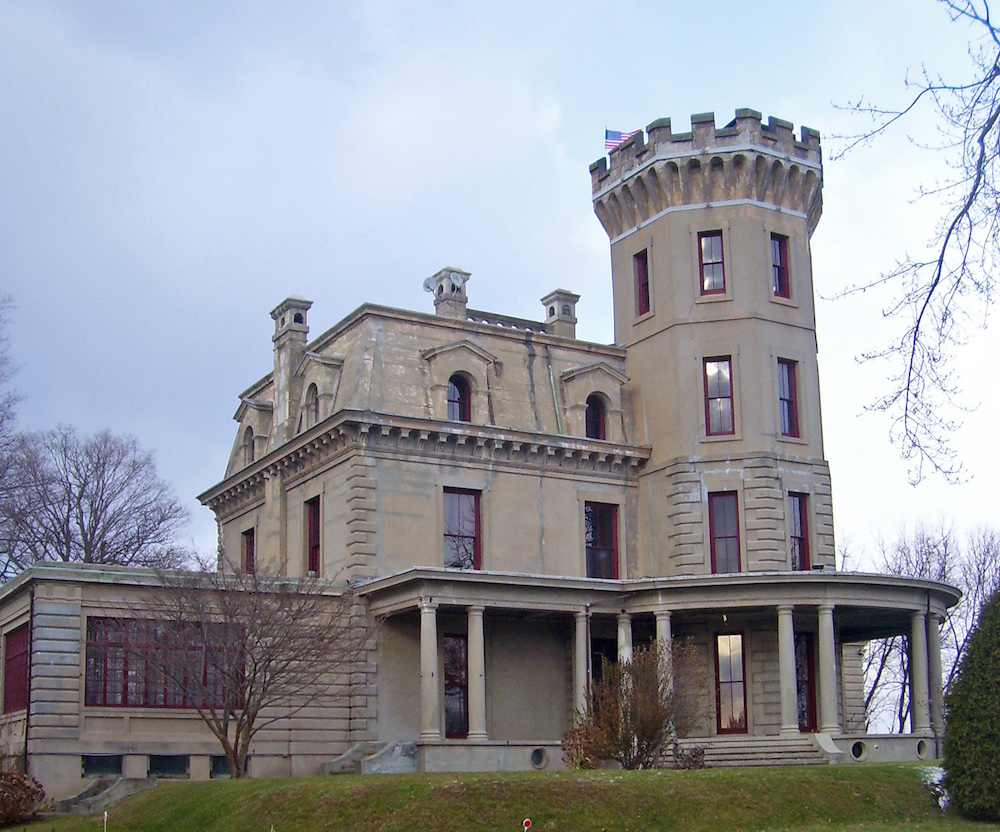 A photograph of the William E. Ward House.
