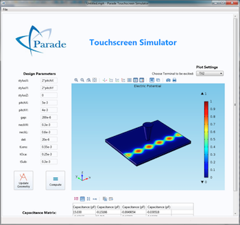 touchscreen simulator parade technologies featured