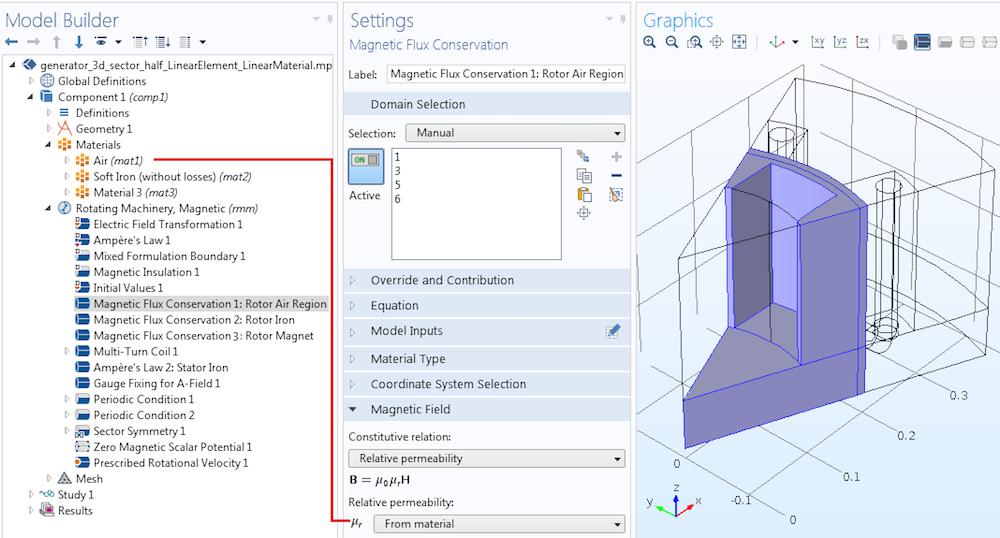 Modeling air region with MSP Руководство по моделированию вращающихся электрических устройств в 3D
