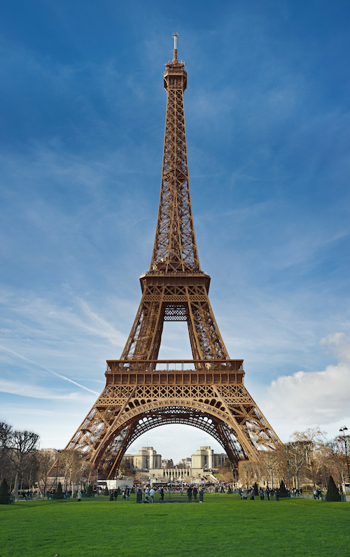 A photo of the Eiffel Tower.