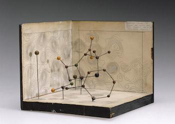 Molecular model of Penicillin featured