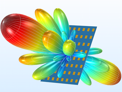 Phased array antenna featured
