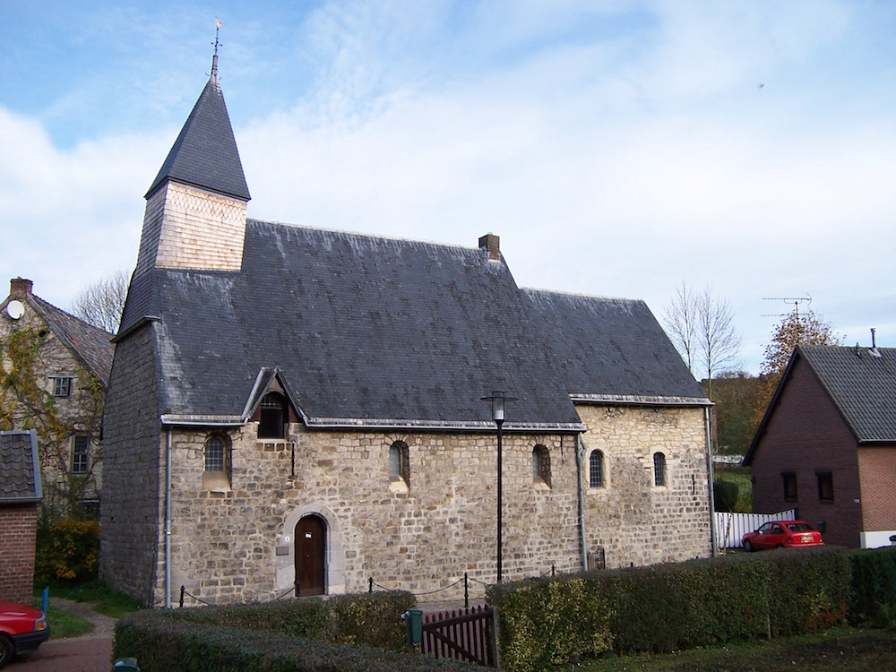 A photo of St. Catherine's Chapel in the Netherlands.