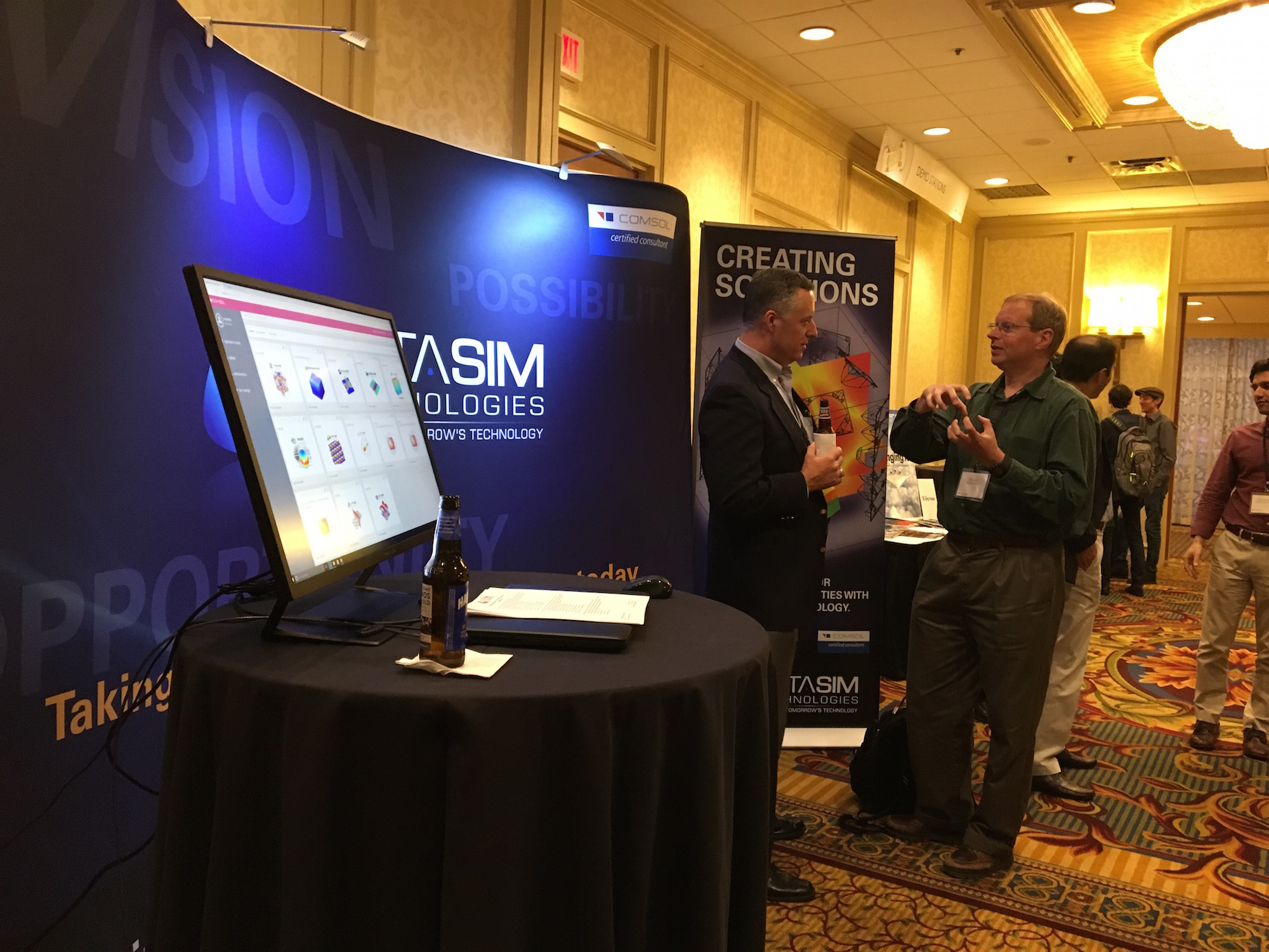 One of our exhibitors, AltaSim Technologies