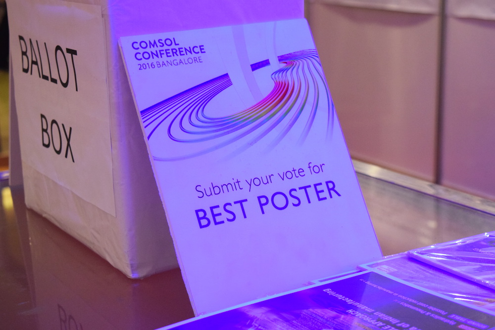 Attendees voted for the Popular Choice Poster.