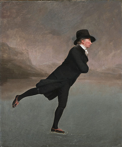 Henry Raeburn's painting titled The Skating Minister.