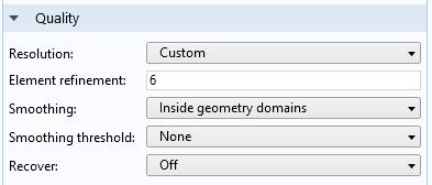 На скриншоте показано, как настраивать пользовательское разрешение для оптимизации качества графиков в постобработке.