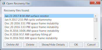 Open Recovery File featured