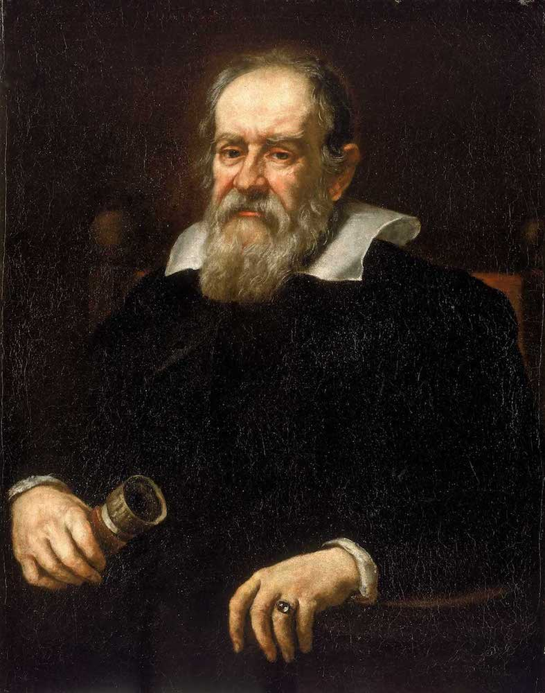 happy birthday galileo galilei blog a painting of galilei