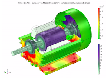 stress distribution induction motor featured