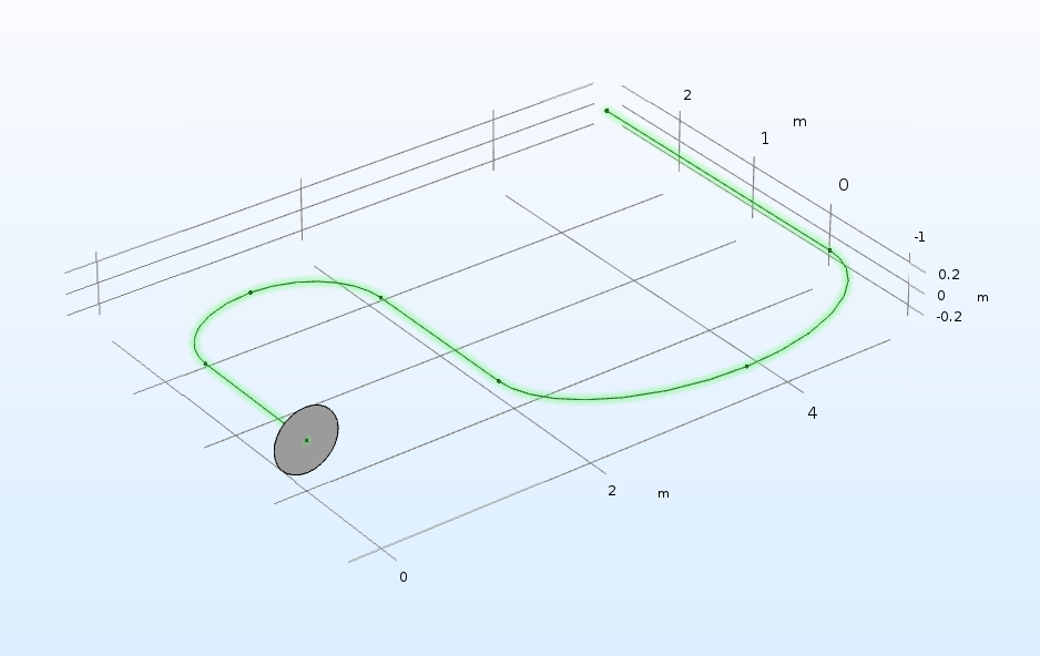 An illustration of using the Sweep operation in COMSOL Multiphysics.