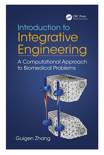 The cover of Integrative Engineering: A Computational Approach to Biomedical Problems, an FEM book.