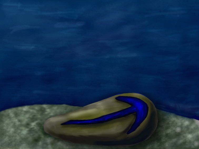 An illustration of Parvancorina.