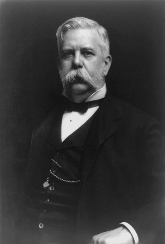 A photo of George Westinghouse.