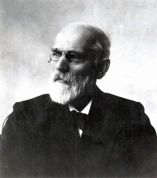 A photograph of Johannes Diderik van der Waals.