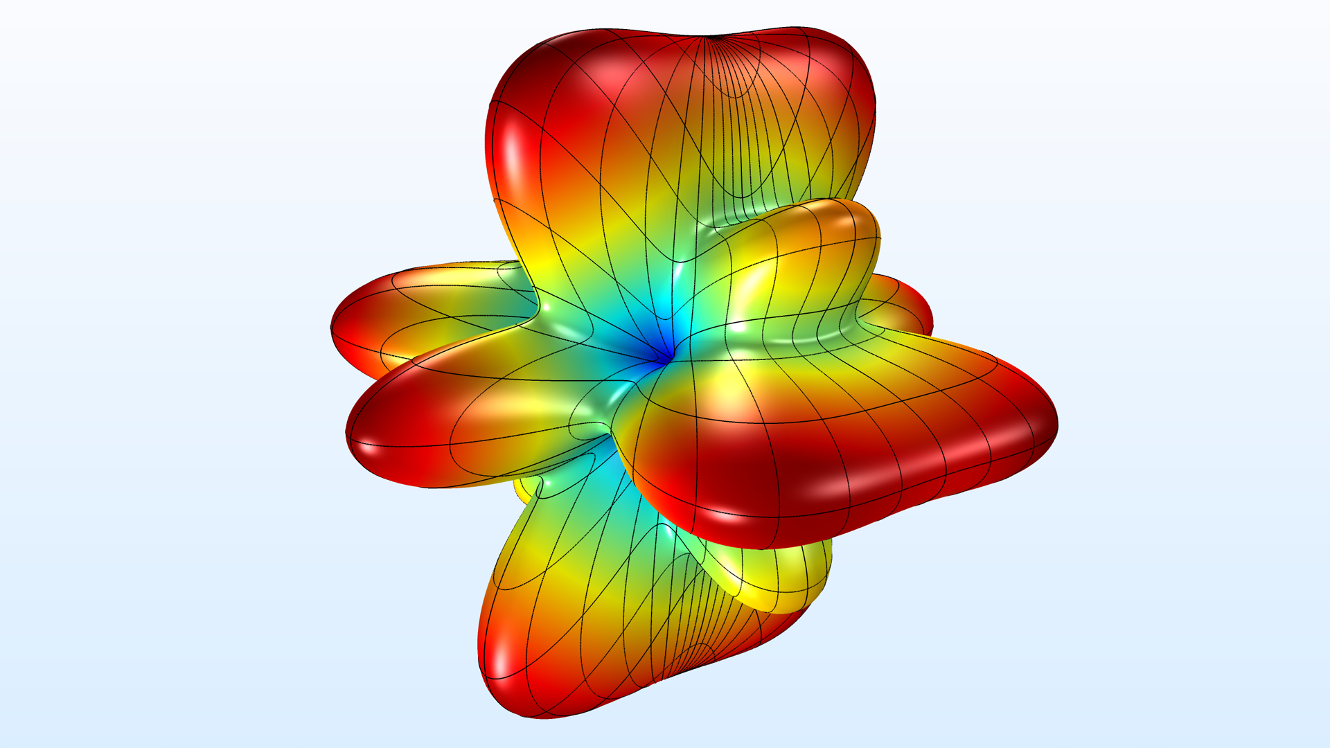 This Bessel panel tutorial model has been updated with a BEM-FEM hybrid modeling technique for the Acoustics Module.