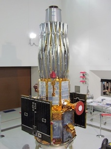 A photo of TacSat-4.