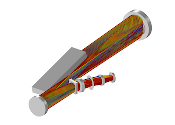 White pupil échelle spectrograph model via the Ray Optics Module featured
