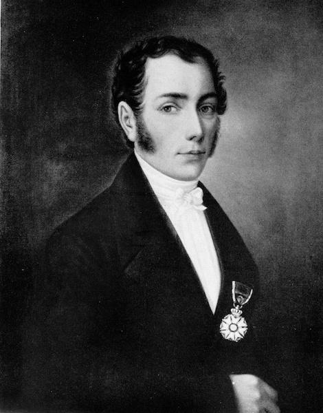 A portrait of Joseph von Fraunhofer.
