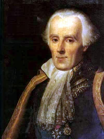 A portrait of Pierre-Simon Laplace.